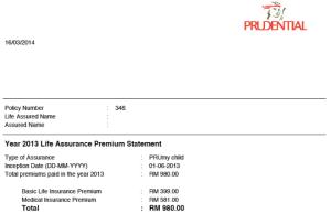 prudential statement